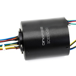 250rpm 240V 50mm through bore slip ring