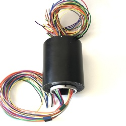 500rpm 70mm through bore slip ring