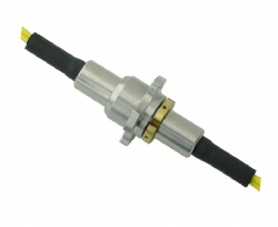 Two-channel Plastic Optical Fiber Rotary Joint